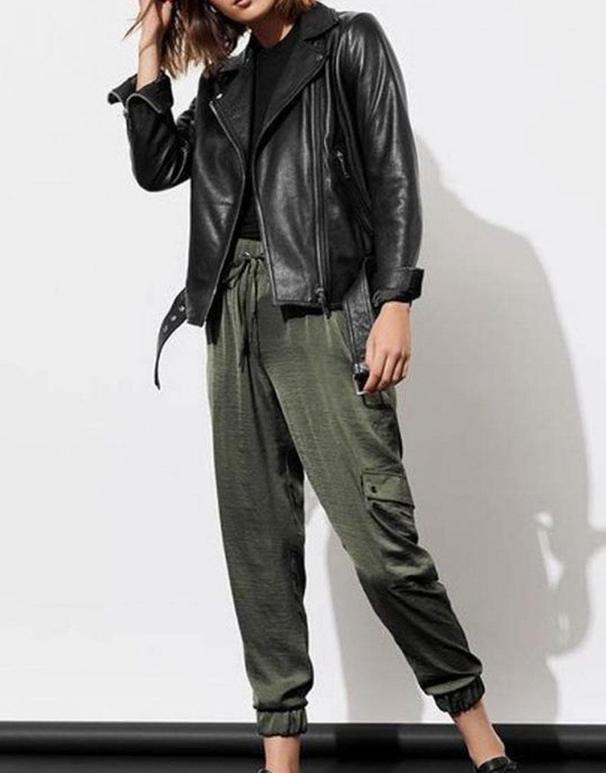 Alisha-Boe-Cropped-Biker-13-Reasons-Why-S04-Jessica-Davis-Leather-Jacket