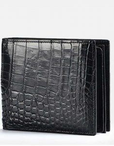 Crocodile-Leather-Wallet