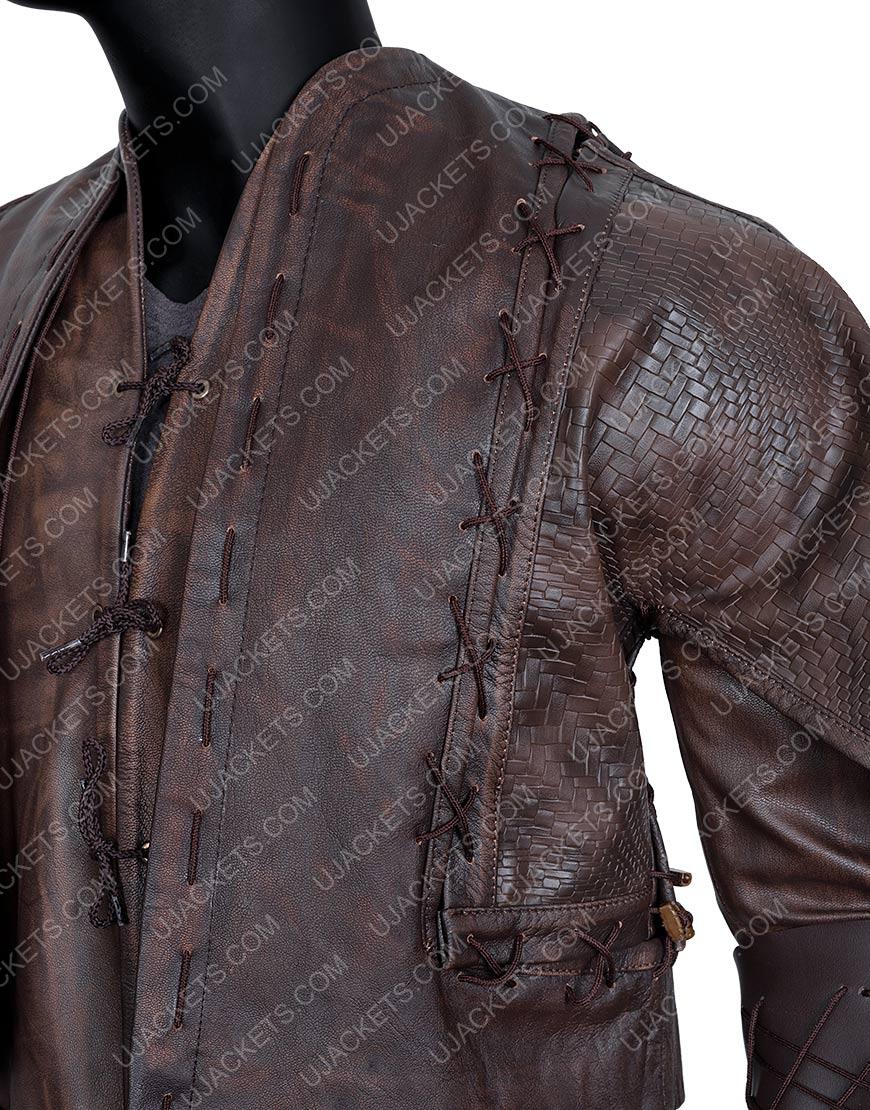 Devon Terrell TvCursed Brown Leather Jacket