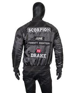 Drake Scorpion Bomber Jacket
