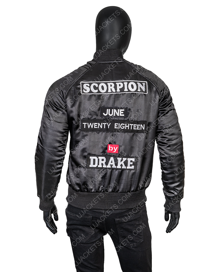 Drake Scorpion Bomber Jacket