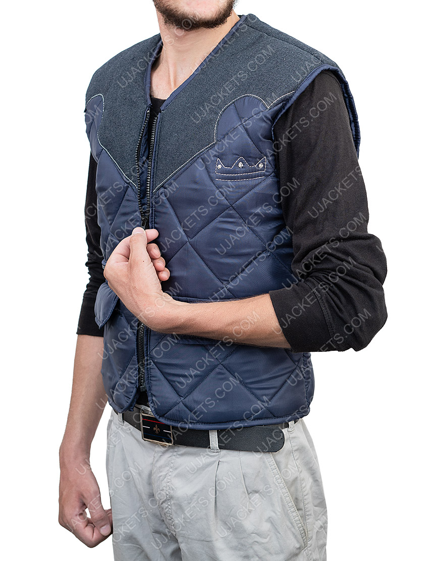 Game Far Cry 5 Joseph The Father Seed Quilted Leather Vest