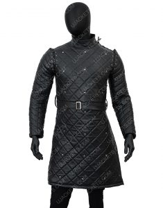Game Of Thrones Samwell Tarly John Bradley Quilted Leather Jacket