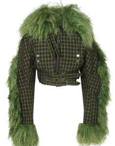 Killing-Eve-S03-Villanelle-Green-Fur-Cropped-Jacket