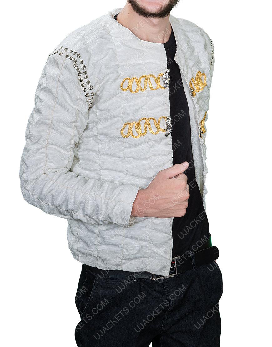 Legends Of The Sword King Arthur Charlie Hunnam Ivory Jacket
