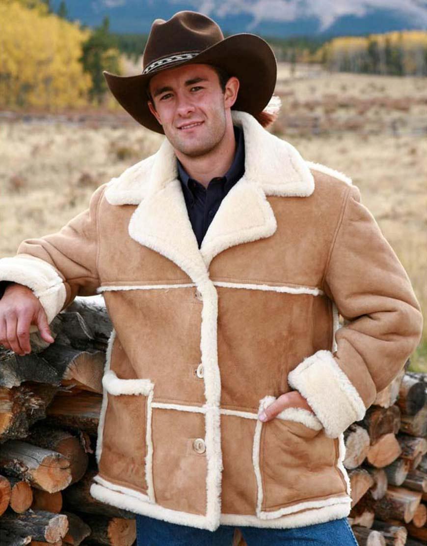 Marlboro-Man-Shearling-Suede-Leather-Sheepskin-Jacket