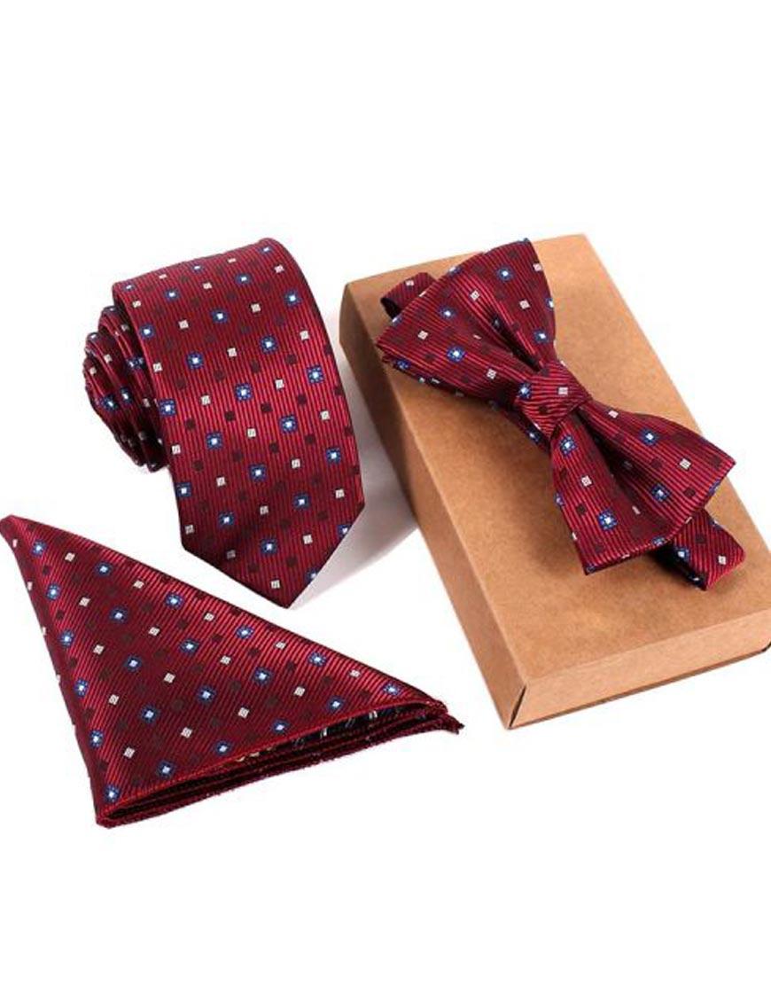 Maroon-Designer-Tie-For-Mens