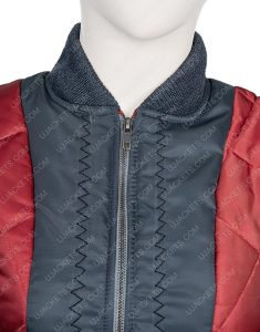 Raven Reyes The 100 Lindsey Morgan Quilted Leather Jacket