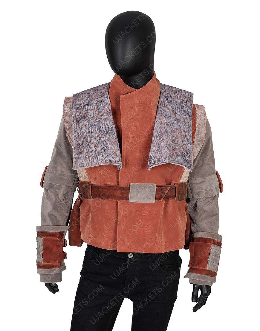 Star Wars The Mandalorian Nick Nolte Brown Kuiil Vest