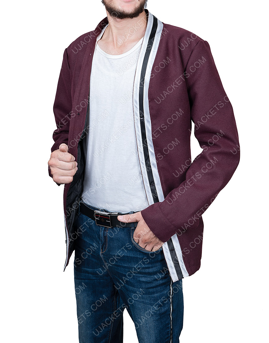 The Vast Of Night Everett Sloan Jacket With White Stripes