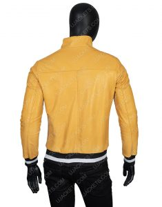 Victor Salazar Love, Victor Yellow Leather Jacket