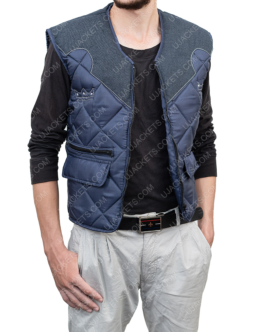 Video Game Far Cry 5 Joseph The Father Quilted Leather Vest