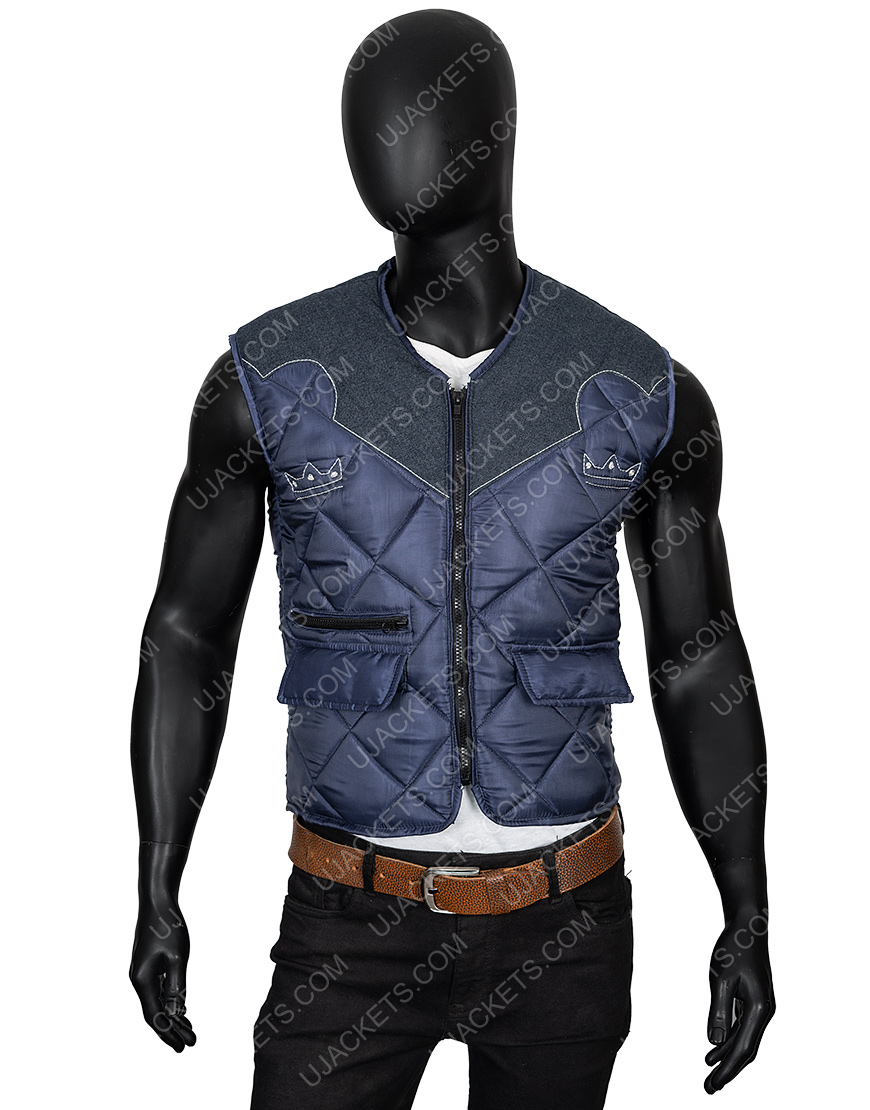 Video Game Far Cry 5 Joseph The Father Seed Quilted Leather Vest