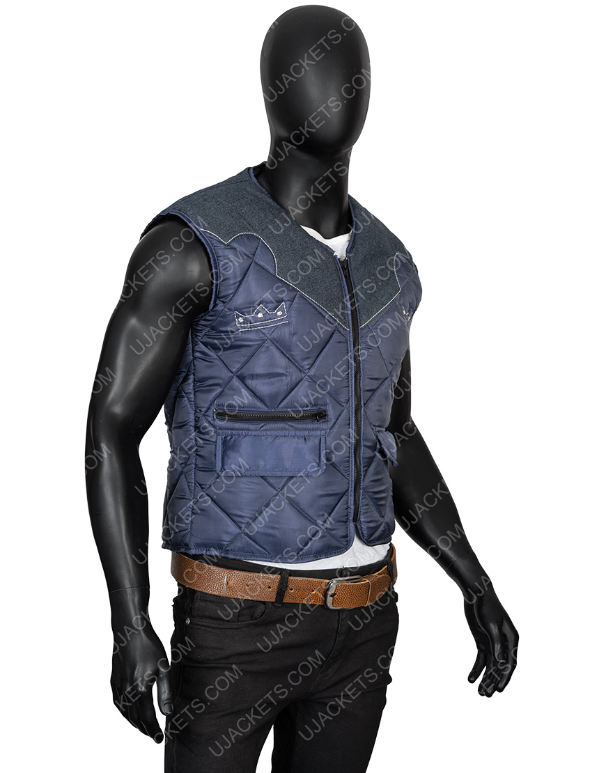 Video Game Far Cry 5 Joseph The Father Seed Quilted Vest