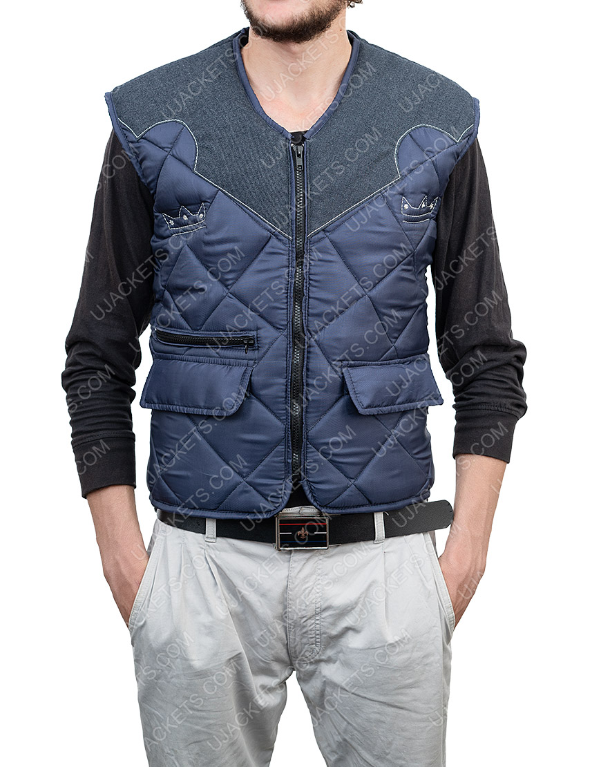 Video Game Far Cry 5 The Father Seed Quilted Leather Vest