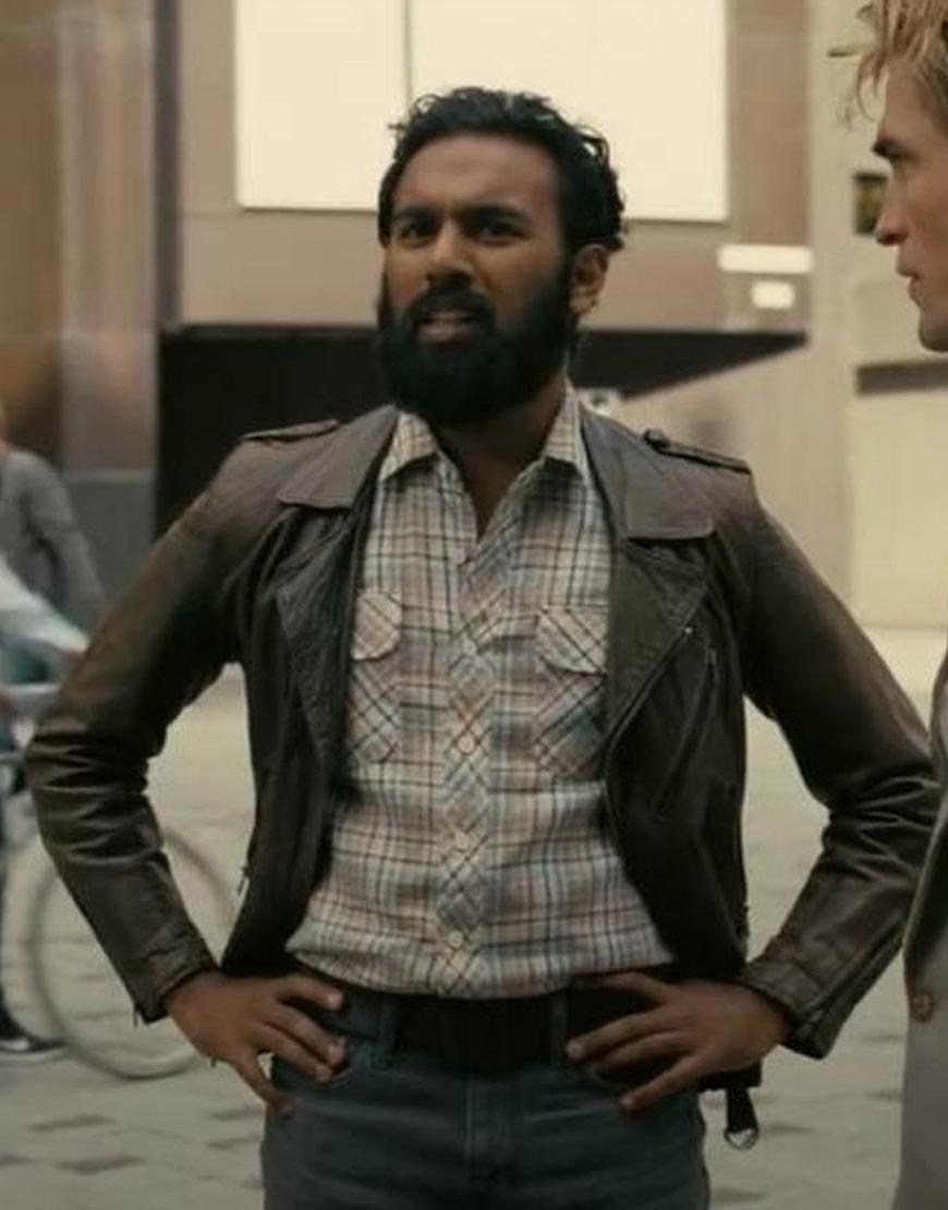 Ahmad-Tenet-Himesh-Patel-Brown-Leather-Jacket