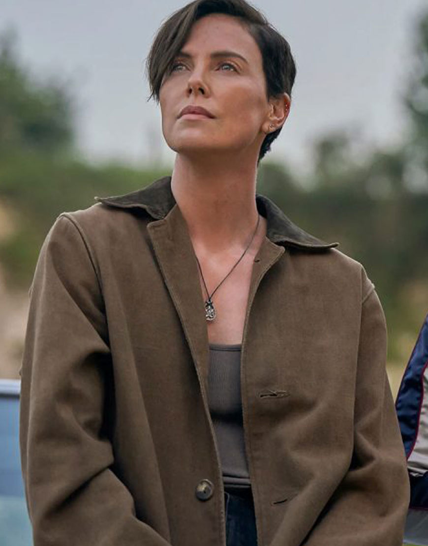 Charlize-Theron-The-Old-Guard-Trench-Coat