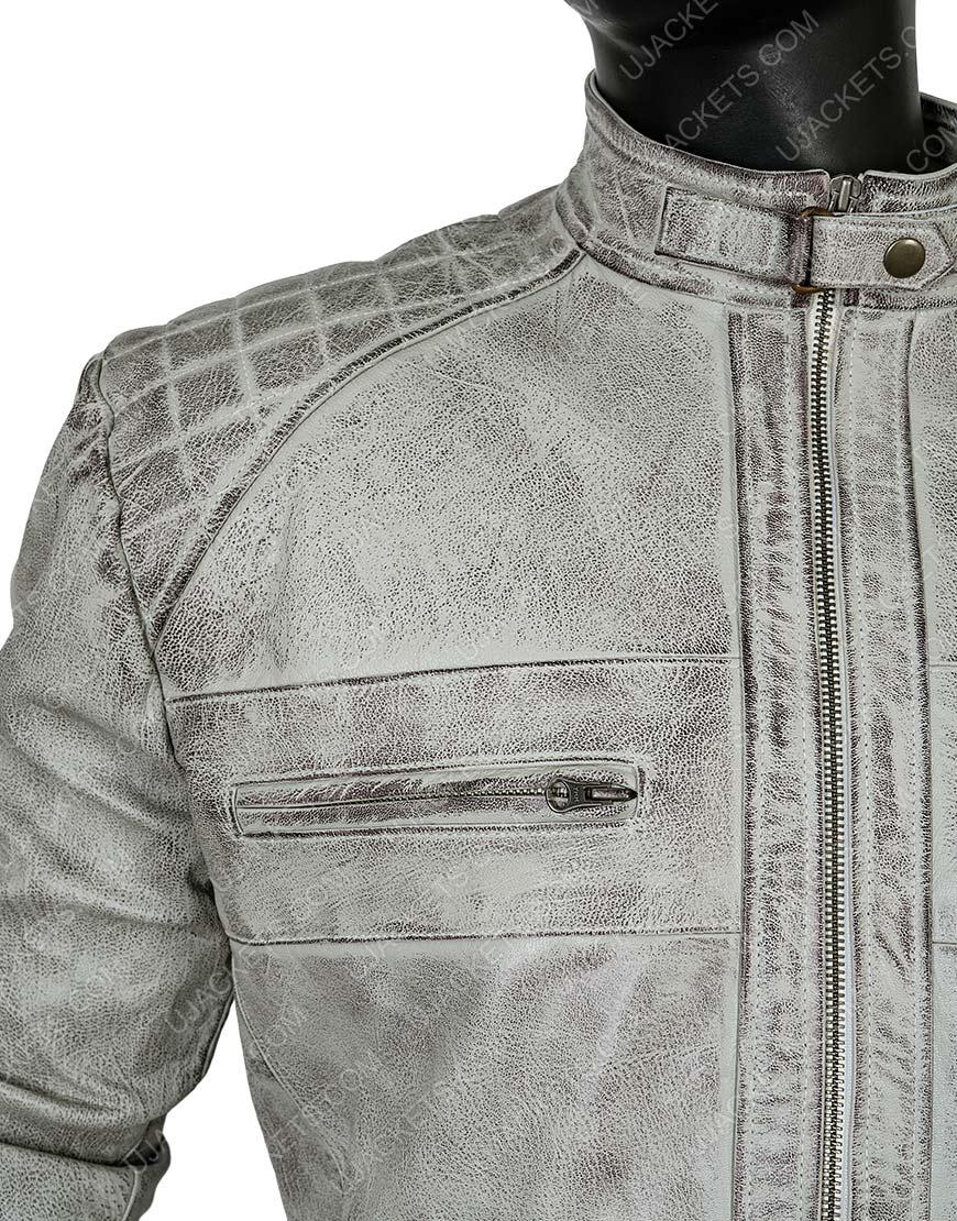 Clearance Sale 0020 Men's Cotton Grey Jacket
