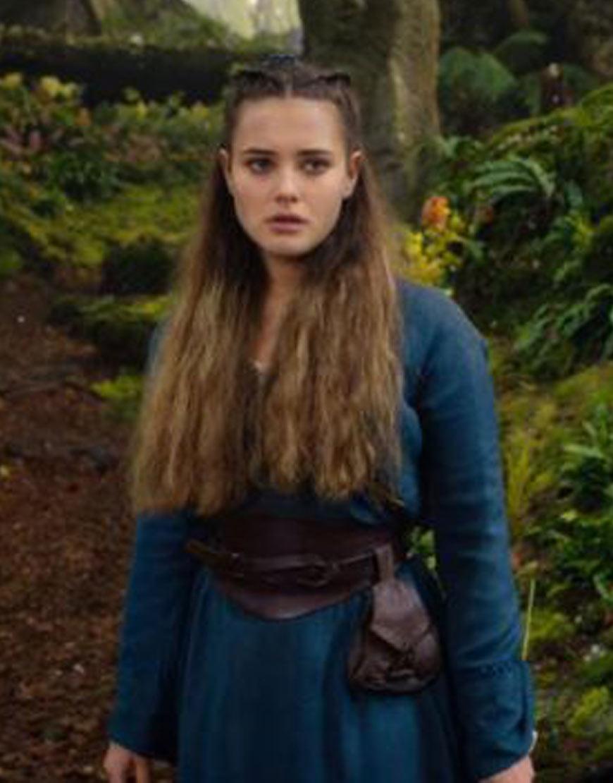 Cursed-Netflix-Katherine-Langford-coat