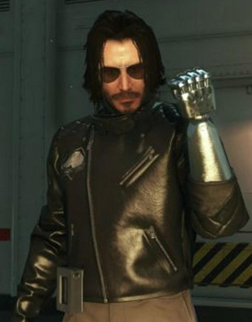 Cyberpunk-2077-Johnny-Silverhand-Leather-Jacket