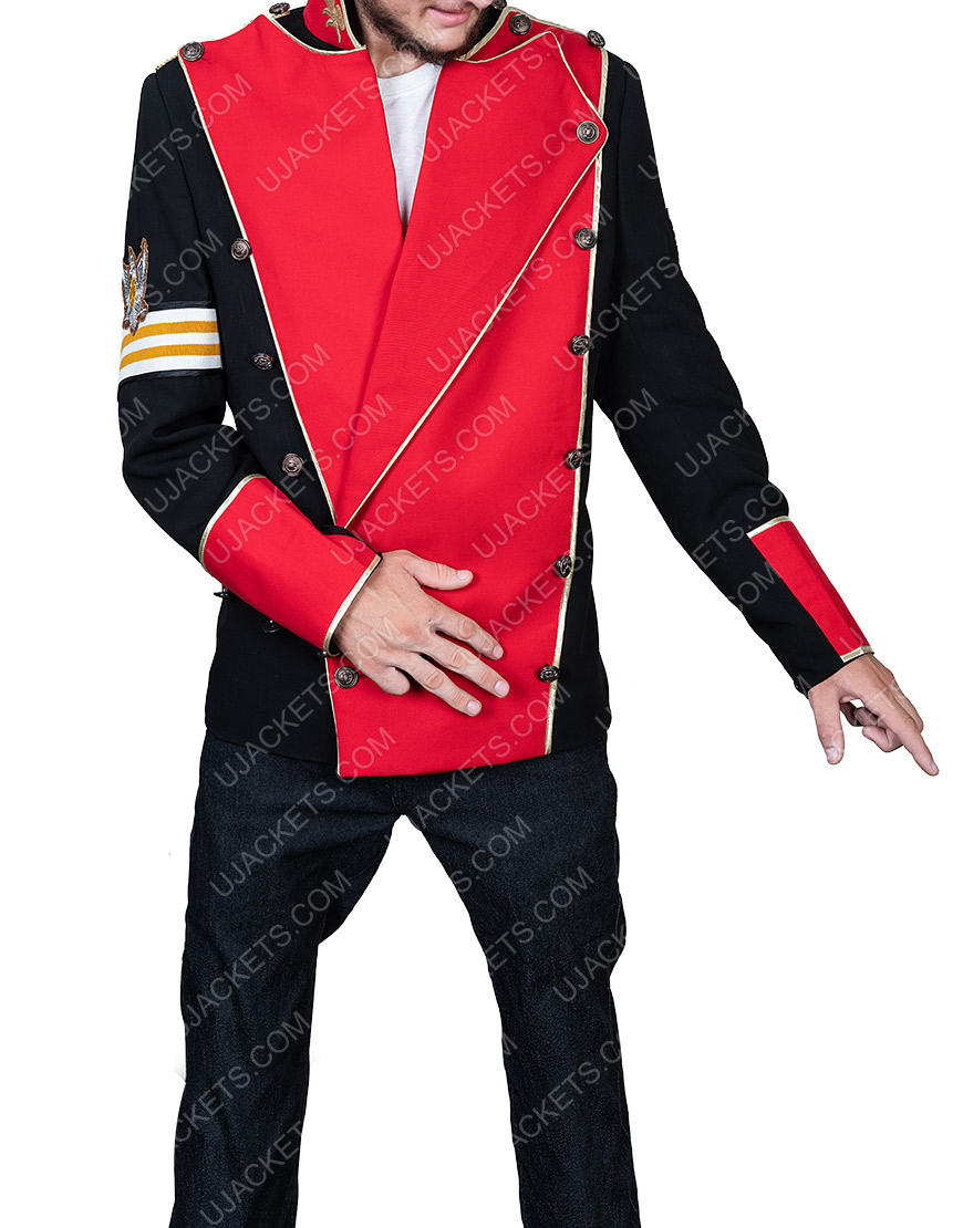 Double Breasted Michael Jackson Cotton Jacket