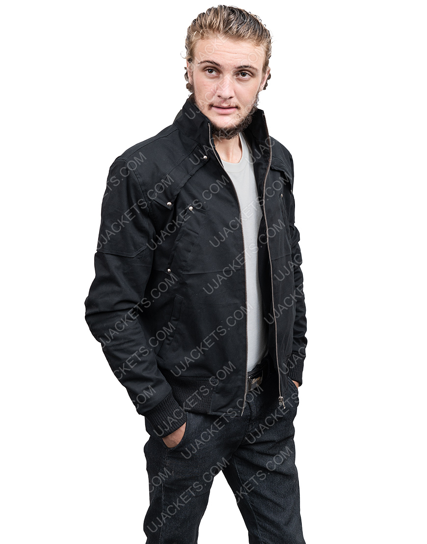 Down To Earth With Zachary David Efron Black Puffer Jacket
