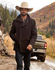 Ian-Bohen-Black-Yellowstone-Ryan-Peacoat