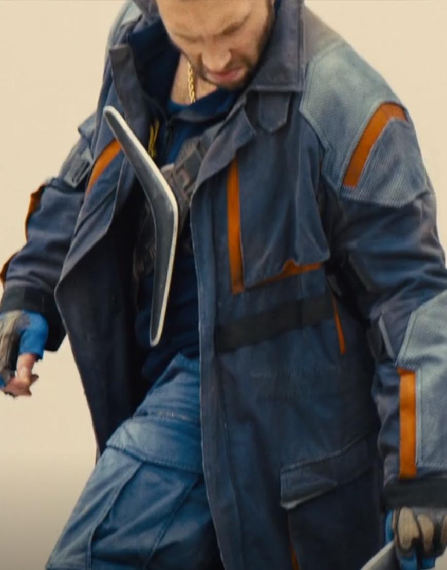 Jai Courtney Suicide Squad 2 Captain Boomerang Coat