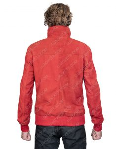 Jamie Foxx Project Power Just As It Is Leather Jacket With Back Patch