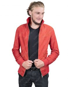 Jamie Foxx Project Power Just As It Is Red Leather Jacket