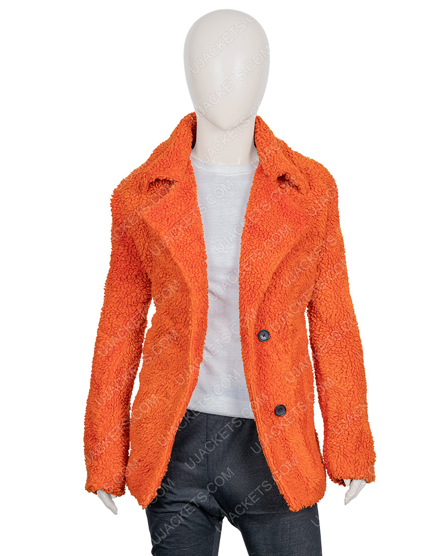 Kelly Reilly Sherpa Yellowstone Beth Dutton Brown Jacket
