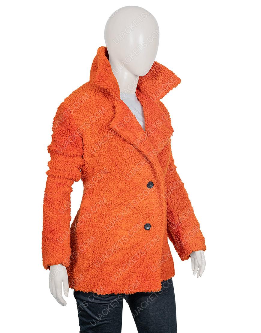 Kelly Reilly Sherpa Yellowstone Beth Dutton Fur Jacket