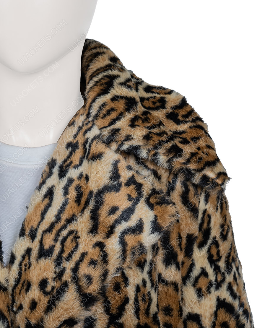 Kelly Reilly Yellowstone S02 Beth Dutton Cheetah Coat