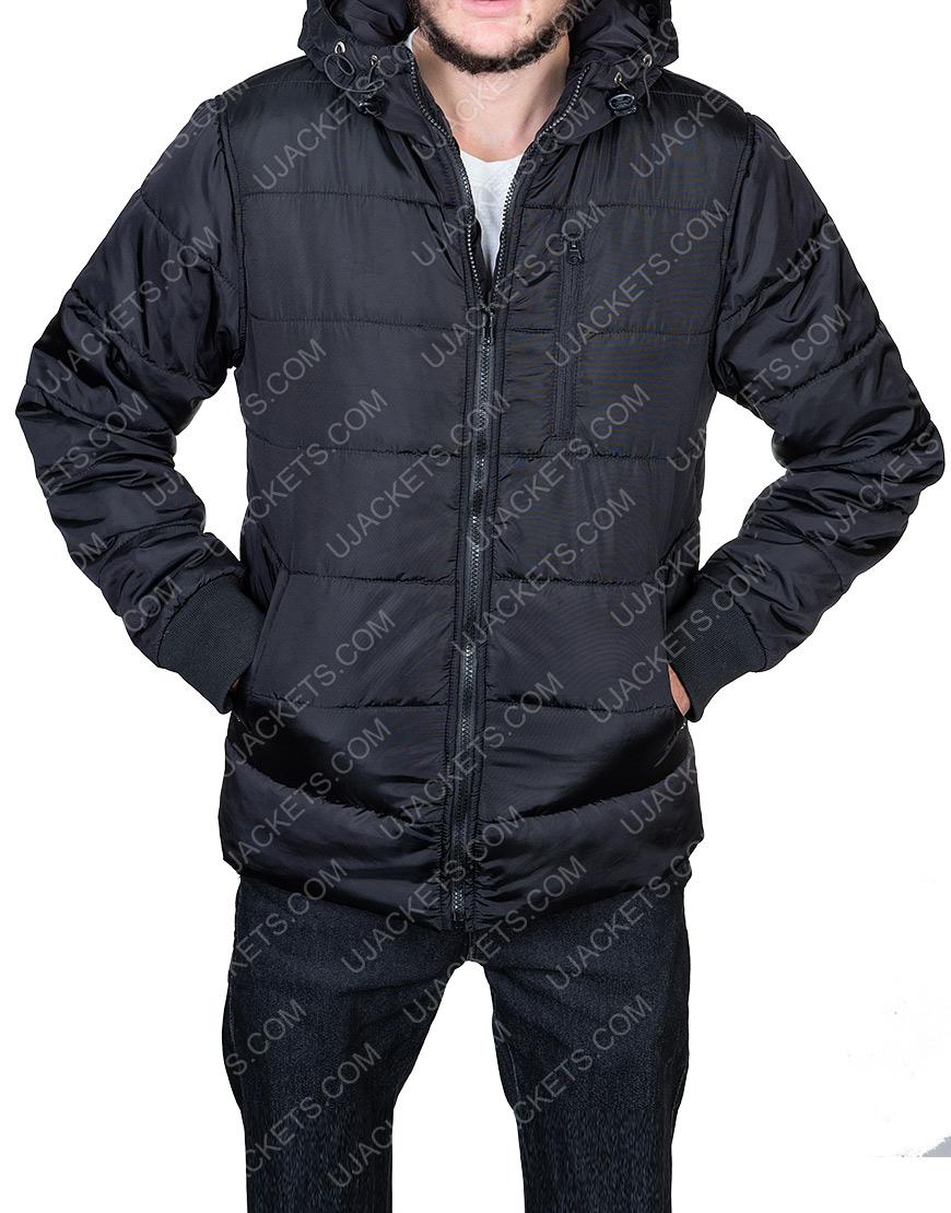 Mens Puffer Hooded Jacket