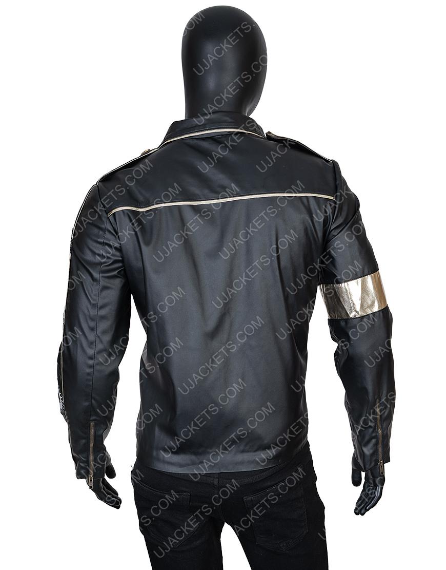 Michael Jackson Elizabeth Taylor Black Jacket