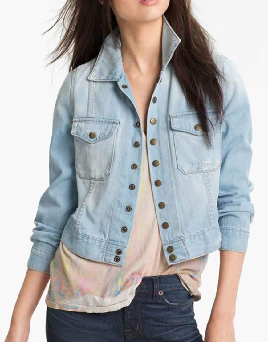 Monica-Dutton-Yellowstone-Season-03-Kelsey-Asbille-Blue-Denim-Jacket