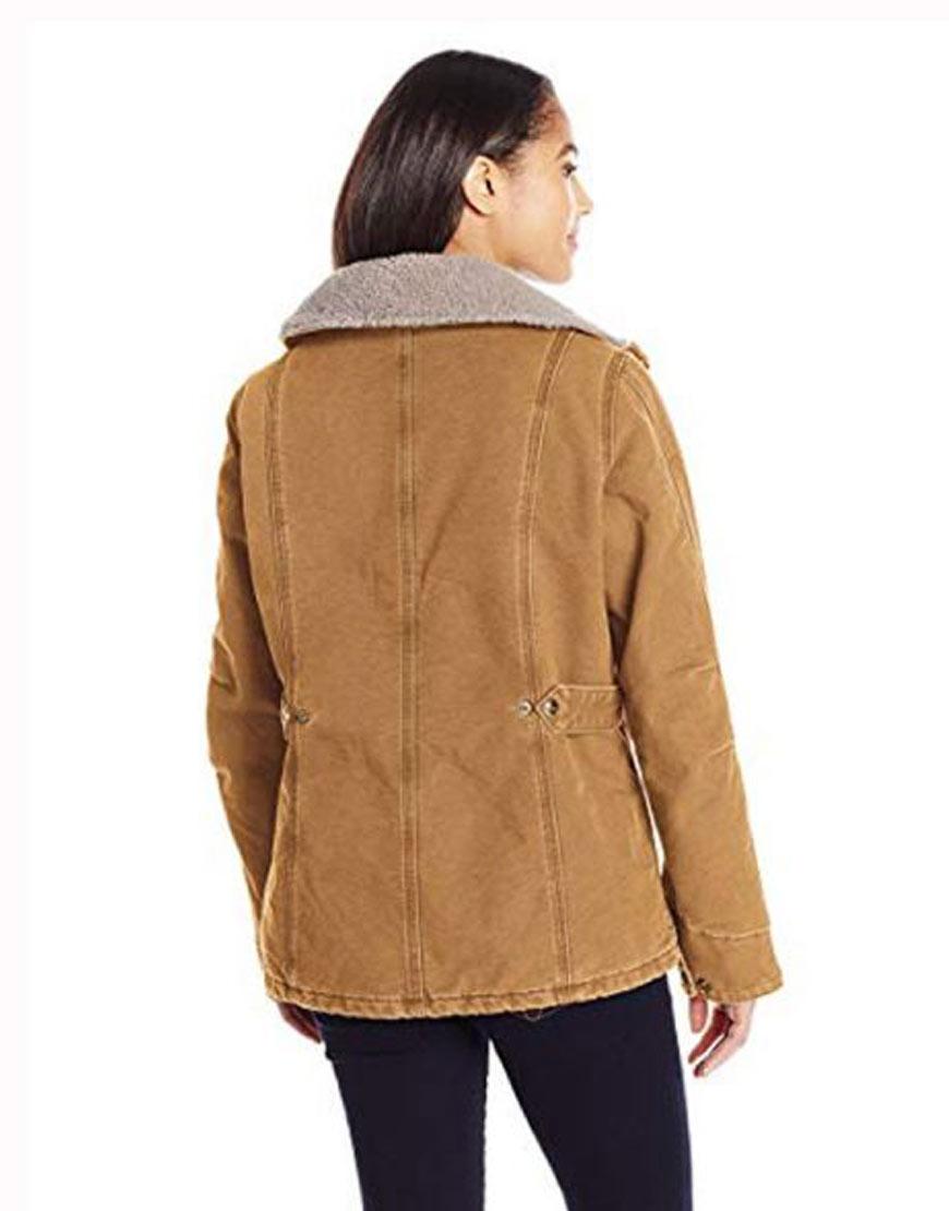 Monica-Dutton-Yellowstone-s02-Brown-jacket