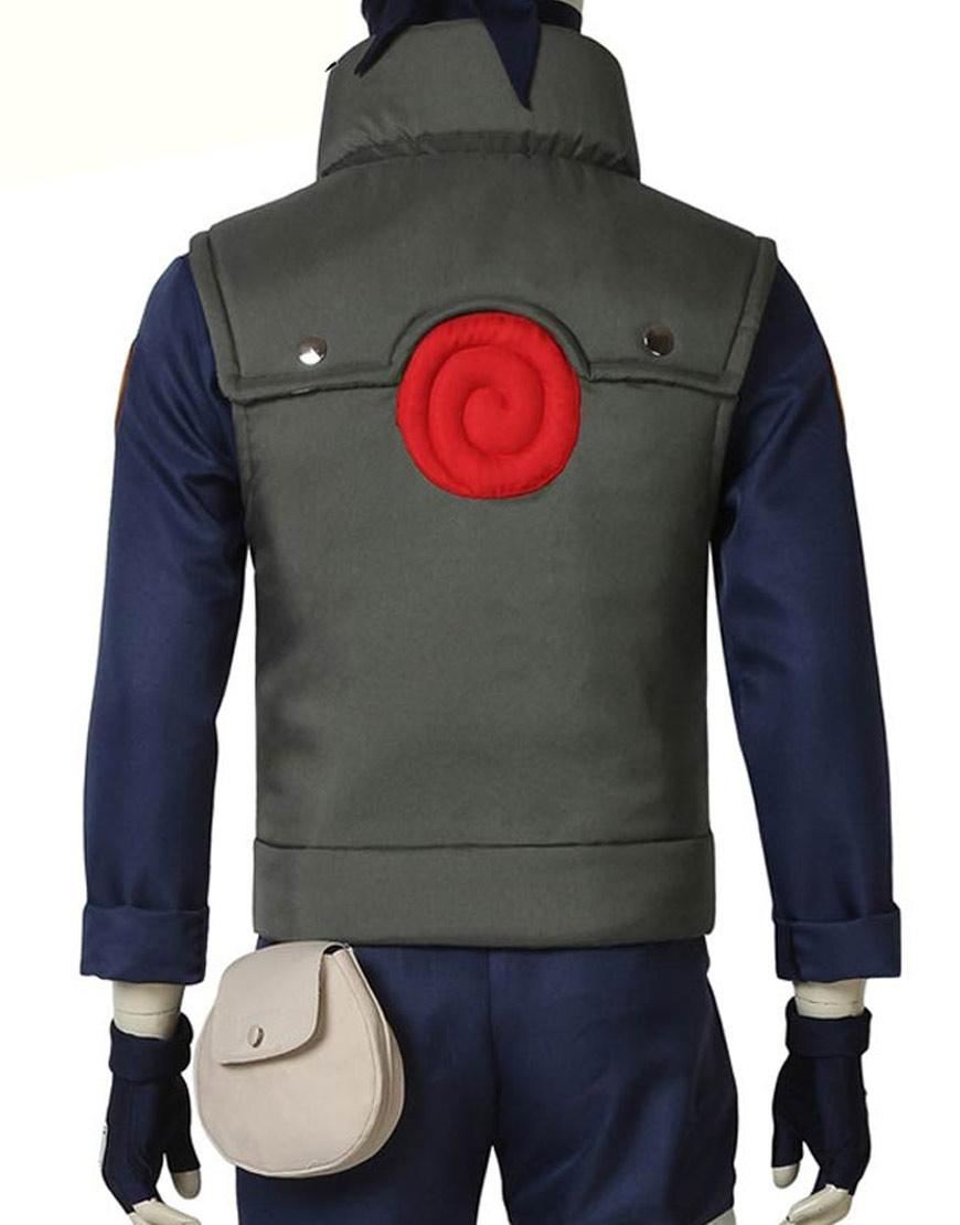 Naruto-Kakashi-Hatake-Green-Vest