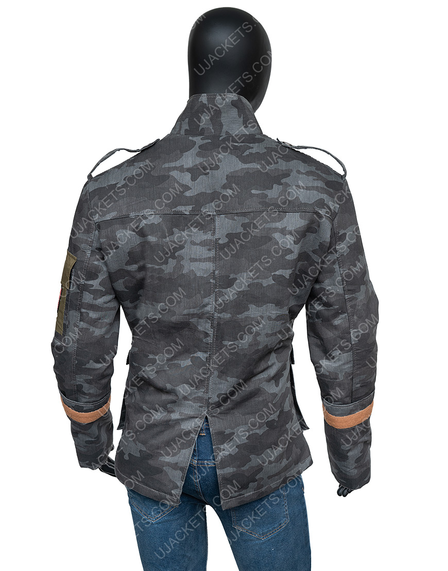 Resident Evil 6 Blue Double Breasted Jake Jacket
