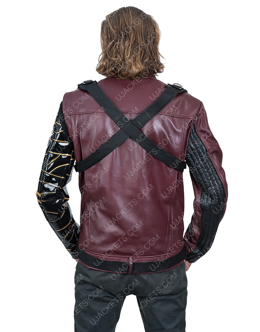 Sebastian StanThe Falcon And The Winter Soldier Bucky Barnes Jacket