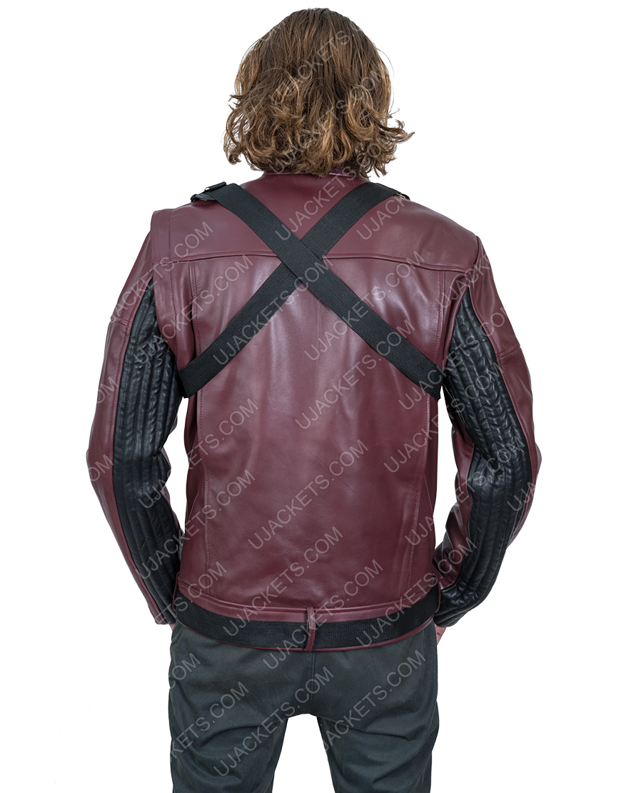 Sebastian StanThe Falcon And The Winter Soldier Bucky Barnes Leather Jacket