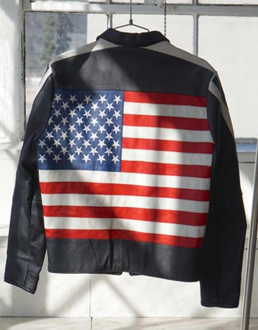 Selena-Gomez-USA-Flag-Jacket