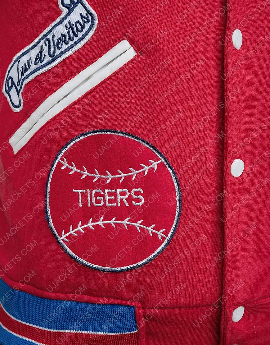 Supreme Tiger Logo Varsity Letterman Jacket