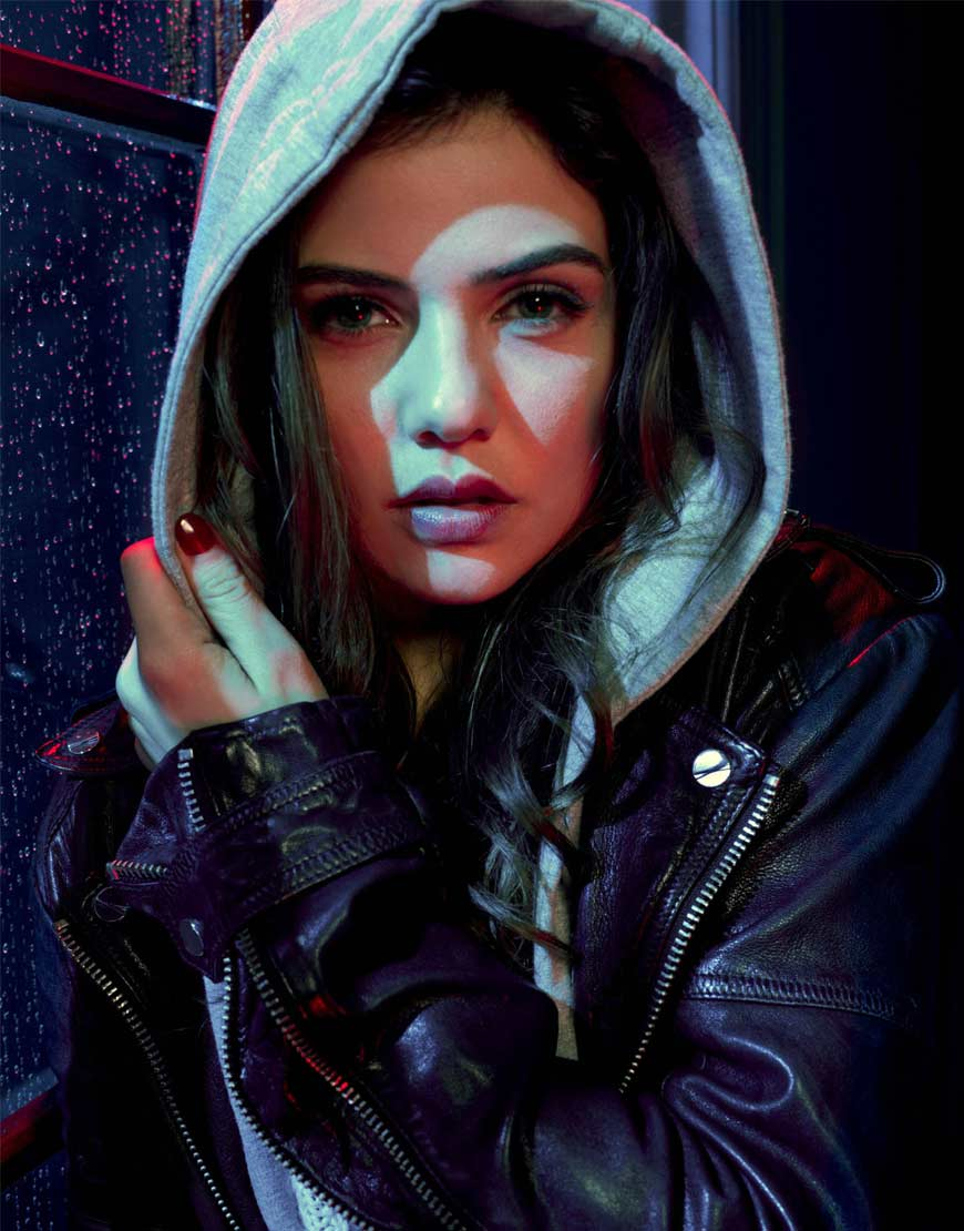 Tell-Me-A-Story-Danielle-Campbell-Black-Jacket