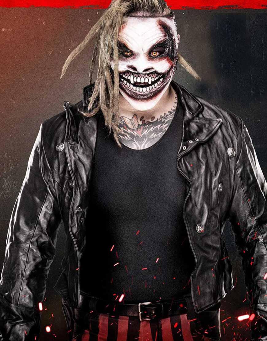 WWE-Superstar-bray-wyatt-the-fiend-Black-Leather-Jacket