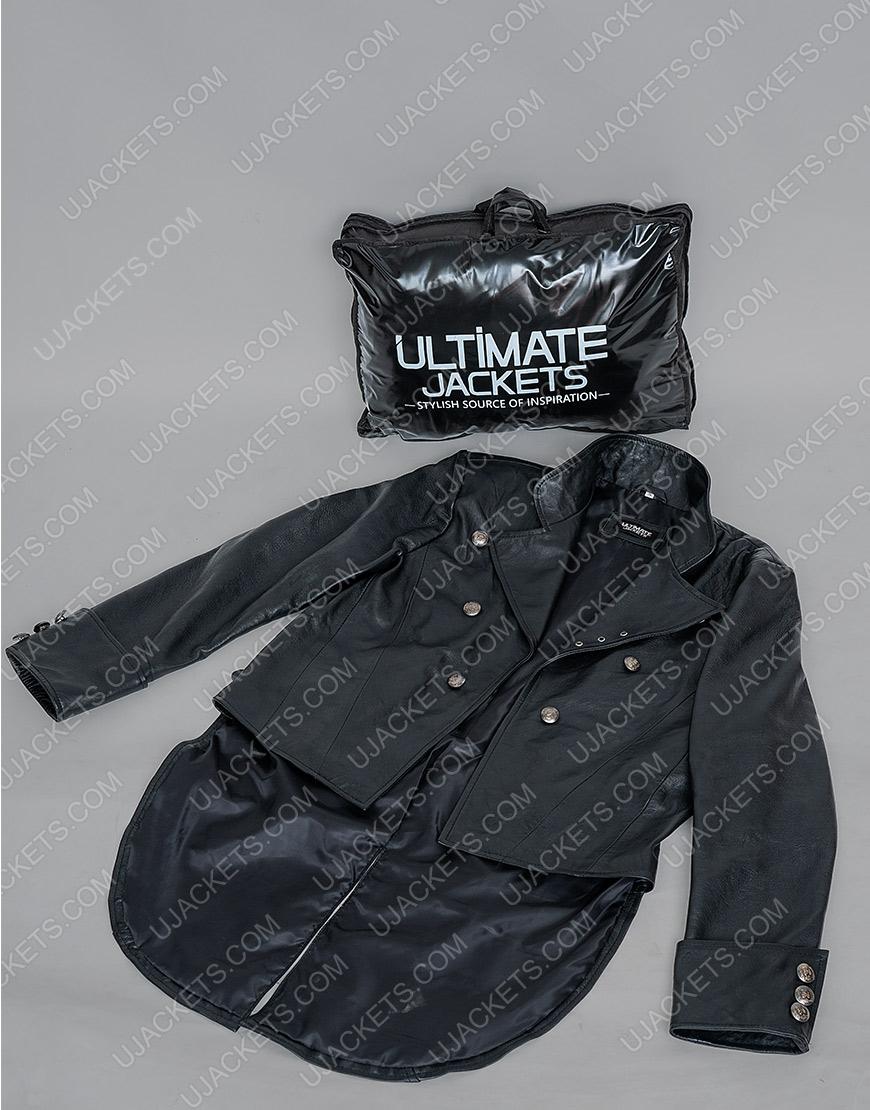 WWE SuperstarThe Fiend Black Leather Jacket