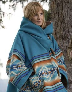 Yellowstone-Beth-Dutton-Blue-Hooded-Coat4