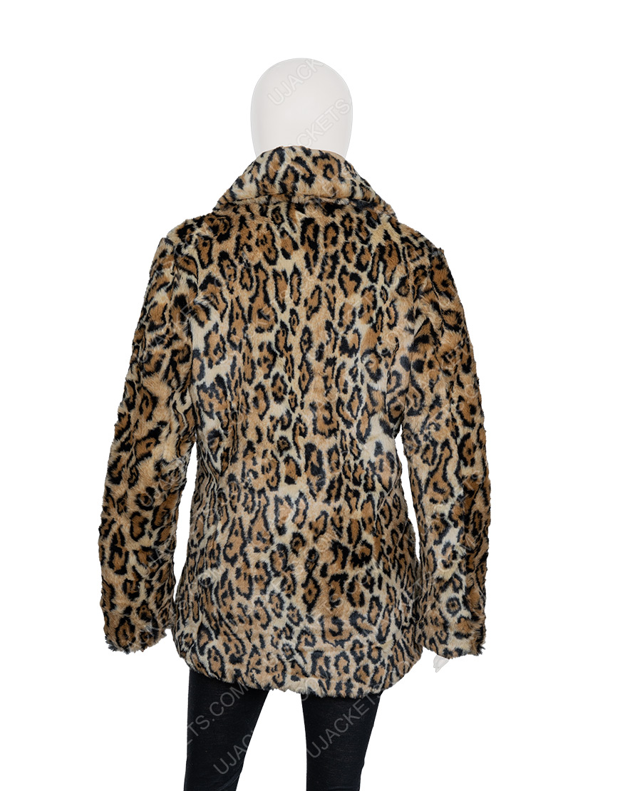 Yellowstone Beth Dutton Cheetah Print Coat