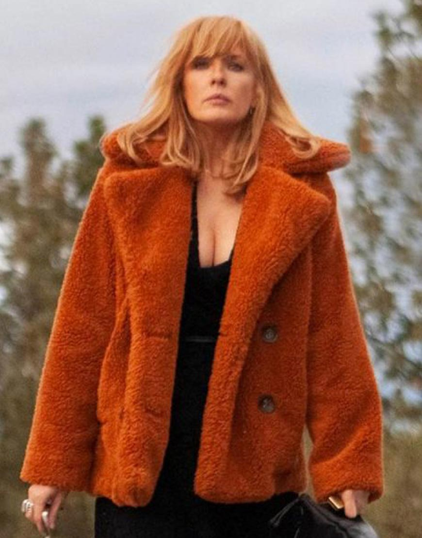Yellowstone-Beth-Dutton-Fur-Jacket
