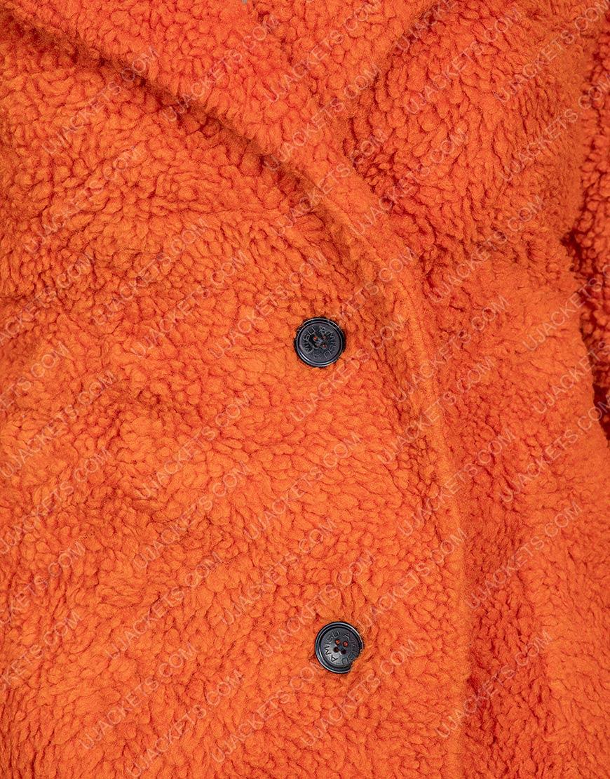 Yellowstone Kelly Reilly Sherpa Beth Dutton Brown Fur Jacket
